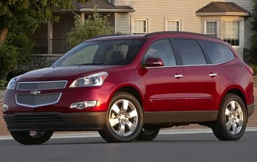Chevrolet Traverse SUV Car Review