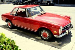 Maintenance of classic 1971 Mercedes 300, car maintenance tips
